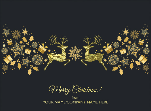 Corporate Christmas card design